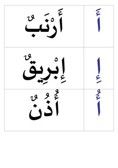 Lettres harakates et mots