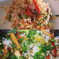 """""""Made by me!! ❤️#biryani #cook #masterchef #yummy #lovecooking #food #colors #spicy #rice #masala """""""