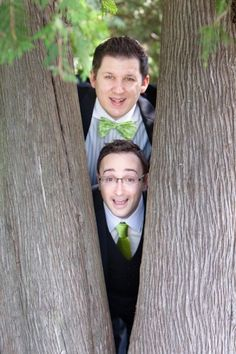 A great idea for matching suits without matching so much. So You're EnGAYged, A Gay Wedding Blog - Part 2