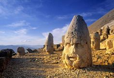 Nobody knew anything about Nemrut Dağı until 1881, when a German engineer, employed by the Ottomans ... - Jon Arnold Images/Getty Images