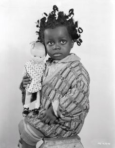"""Billie """"Buckwheat"""" Thomas (The Little Rascals) beautiful pic but oh so wrong!!!"""