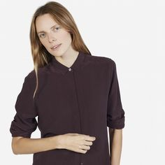 The Modern Silk Point Collar - Everlane