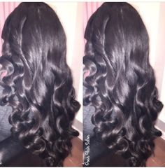 Waves hairstyling at Posh