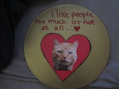 I like people too much or not at all CAT ART by TheEscapistArtist, $7.00