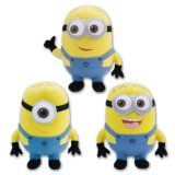 For Landon's stocking Despicable Me The Movie Minions 10 Inch Plush Doll Toy Set Dave Jorge Stewart Stuart set of 3 plush includes : 1 Dave, 1 Jorge, 1 Stewart Soft and Cuddly body aprox. 10 inch tall www. Despicable Me Party, Minions Despicable Me, My Minion, Plush Dolls, Doll Toys, Toys For Girls, Kids Toys, Minion Games, Best Christmas Toys