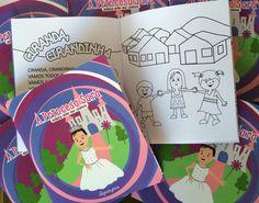 Lembrancinha para guardar com carinho! Livro para colorir personalizado #livropersonalizado #livroparapintar #mybabyface #festapersonalizada #festaseprincesa #princesa