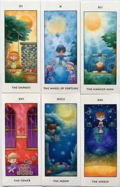 Les Adorables Tarot Deck