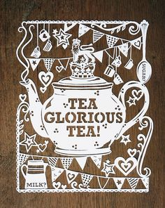 teatime artwork by Julene Harrison