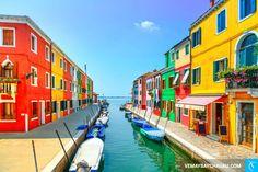 Thị trấn Burano, Ý