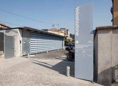Studio Brambilla Orsoni, Corrado Tagliabue, Isabella Sassi Farìas · Velostazione Como Borghi