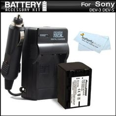 Battery And Charger Kit For Sony DEV-3, Sony DEV-5 Digital Recording Binoculars Includes Extended Replacement (2300Mah) NP-FV70 Battery + Ac/Dc Travel Charger + MicroFiber Cloth (Electronics)  http://www.rereq.com/prod.php?p=B005WKY60S  B005WKY60S