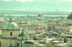 La foto: Panorámica de Cagliari