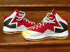low priced 4ad69 90d7c Nike Lebron X Elite MVP Mvp Basketball, New Basketball Shoes, Nike Lebron,  Nike