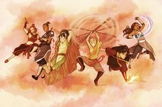 tiuanarui:      I know this is like a month early for the anniversary, but I couldn't resist.      Thank you michaeldantedimartino and bryankonietzko for the awesome 10 years that is Avatar The Last Airbender      And avatarparallels, I heard Suki is needed in the gaang, so here she is.