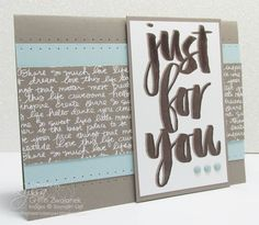 Stampin Up Botanicals for You  card by Lyssa. 2016 Saleabration