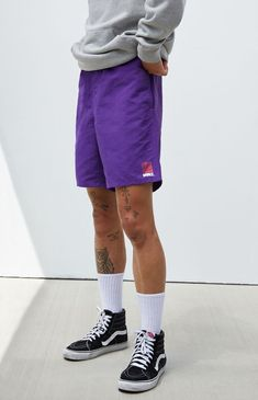Men's purple #shorts Vans Retro Sport Shorts | PacSun