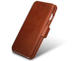 iCarer iPhone 6 Plus/ 6S Plus Vintage Wallet Case With Three Credit Cards Slot Design