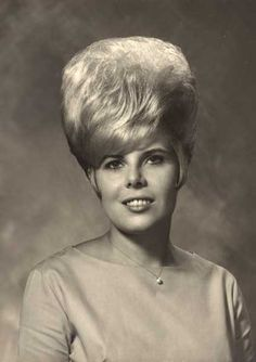 1960's HAIRSTYLES | Jackie On A Pensive Hair Day