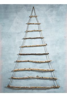 Frosted Branches Hanging Tree - Large - Christmas
