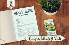 Step 2 to Prepare for Touring a Home:  Use your wants and needs to find the best listings out of your initial list.