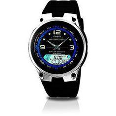 56b15093695 foto  Relógio Masculino Casio Analógico Digital Esportivo AW-82-1AVDF  Relogio Masculino