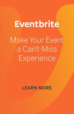 Stand out from the competition with customizable event pages that let you showcase everything that is unique about your event.