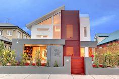 Современный дом в Австралии демонстрирует красивое сочетание различных материалов