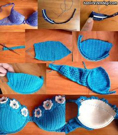 Breast size and secrets for a knitted swimsuit crochet We knit a swimsuit for a small and large chest Small chest Swimsuits for small breasts are lighter, but Crochet Lingerie, Bikinis Crochet, Crochet Bra, Crochet Bikini Pattern, Crochet Bikini Top, Crochet Woman, Crochet Blouse, Crochet Crafts, Crochet Clothes