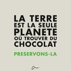 écologie / chocolat