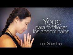 Yoga para fortalecer los abdominales - YouTube