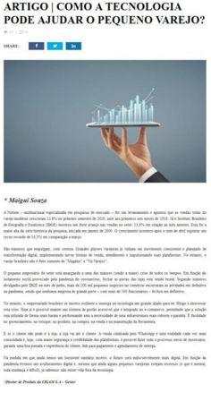 Revista Varejo Brasil - COMO A TECNOLOGIA PODE AJUDAR O PEQUENO VAREJO?