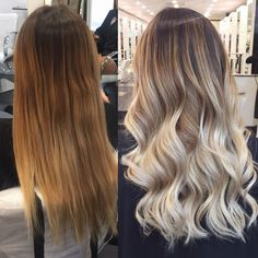 Blonde Hair Looks, Brown Blonde Hair, Balayage Hair Blonde, Platinum Blonde Hair, Gorgeous Hair Color, Hair Color And Cut, Light Hair, Hair Highlights, Hair Hacks