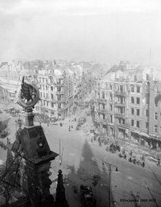 Unikatowe zdjęcia Gdańska po wkroczeniu wojsk radzieckich w 1945 r. Germany Poland, Germany And Prussia, Danzig, Old Photographs, Old Photos, Krakow, City Buildings, Historical Photos, Old Town