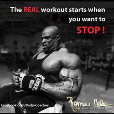 Thats the period of growth - Bodybuilding Motivation 2013 HD - This Is Where We Fight with Ronnie Coleman http://www.youtube.com/...