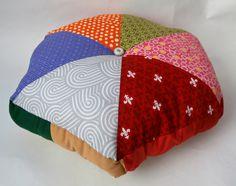 16 Handmade Stuffed Hexagonal Wedge Cushion by QuiltyLittleSecrets