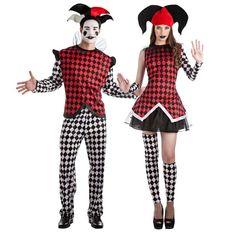 Achetez Déguisements Arlequins #déguisementscouples #nouveauté2017