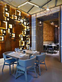 Taiyo Sushi Restaurant in Milan by Lai Studio | Inspirations Area