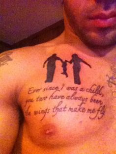 sons tribute to mother tattoo | Tattoo Quotes About Family Are A Meaningful Act Of Love ~ Word And ...