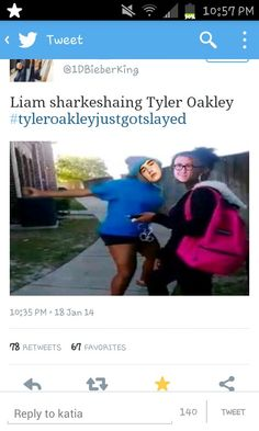 yeah this is kind of accurate because tyler did nothing to make liam lash out at him