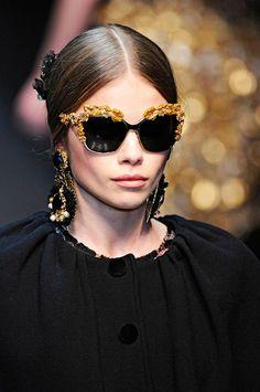 Dolce & Gabbana A/W 2012 sunglasses