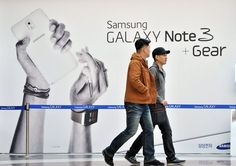 Samsung seeks edge with 1st developer conference Samsung has based most of its devices on Google's Android operating system. Photo: Jung Yeon-je, AFP/Getty Images