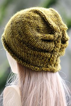 Balls to the Walls Knits: I'm Lichen This Hat