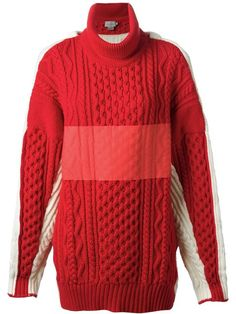 Shop Preen By Thornton Bregazzi chunky knit turtle neck sweater in Start from the world's best independent boutiques at farfetch.com. Over 1000 designers from 300 boutiques in one website.