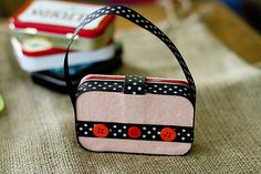 Altoid mints. This idea for purses made from the tins is a perfect project for kids