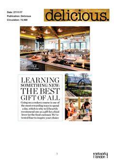 Delicious Magazine - Chewton Glen Cookery School