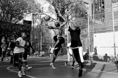 West 4th St. Basketball Courts. Best B-Ball games ever played in the world here!