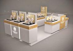jewellery kiosk design on Behance