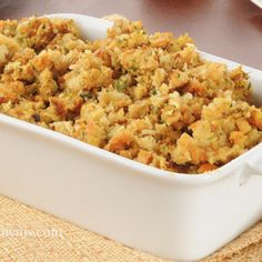 Gluten Free Holiday Stuffing - Add this recipe's ingredients to your shopping list. get.ziplist.com/clipper