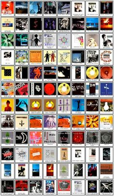 DM Album covers ..looks like all of them...