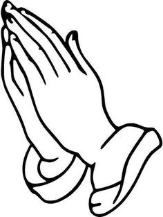 beautiful praying hands tattoo design religious clip art picture rh pinterest com prayer hands clipart black and white